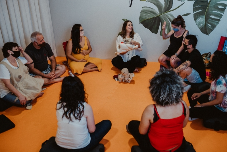 Aula de Gestante Porto Alegre - Aula para Gestante Online