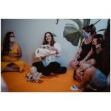 aula de preparação para parto cesárea Cajamar