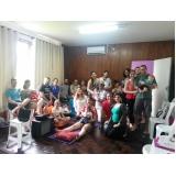 curso de grupo para gestantes maternidade Correia Pinto