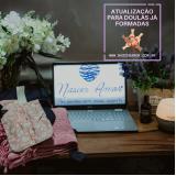 onde tem aula doula online Bragança Paulista